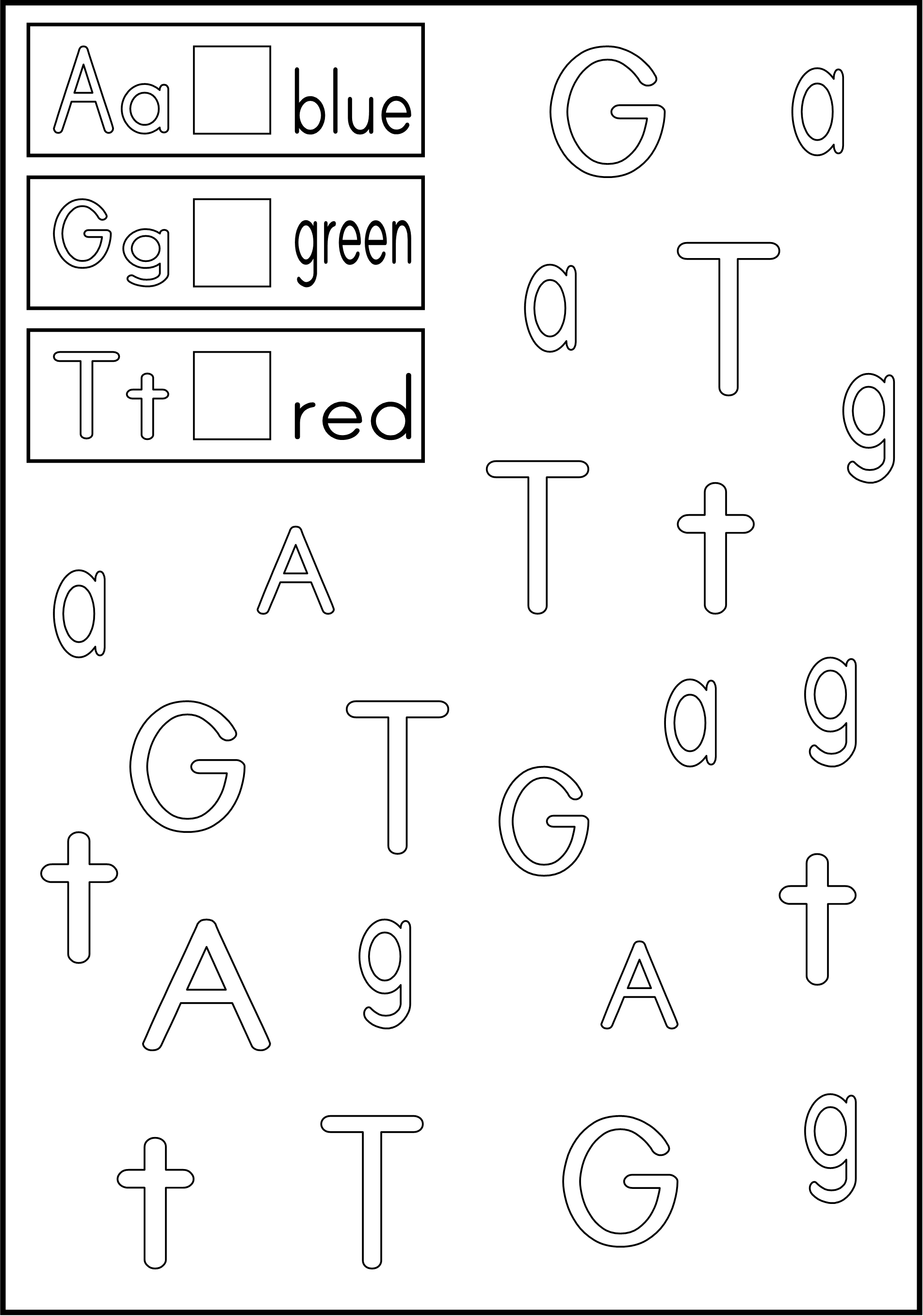 worksheet Alphabet Recognition Worksheets link to letter recognition worksheets color the boxes next letters with appropriate