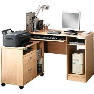 Julio Hideaway Computer Desk Home
