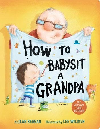 How to babysit a grandma board book