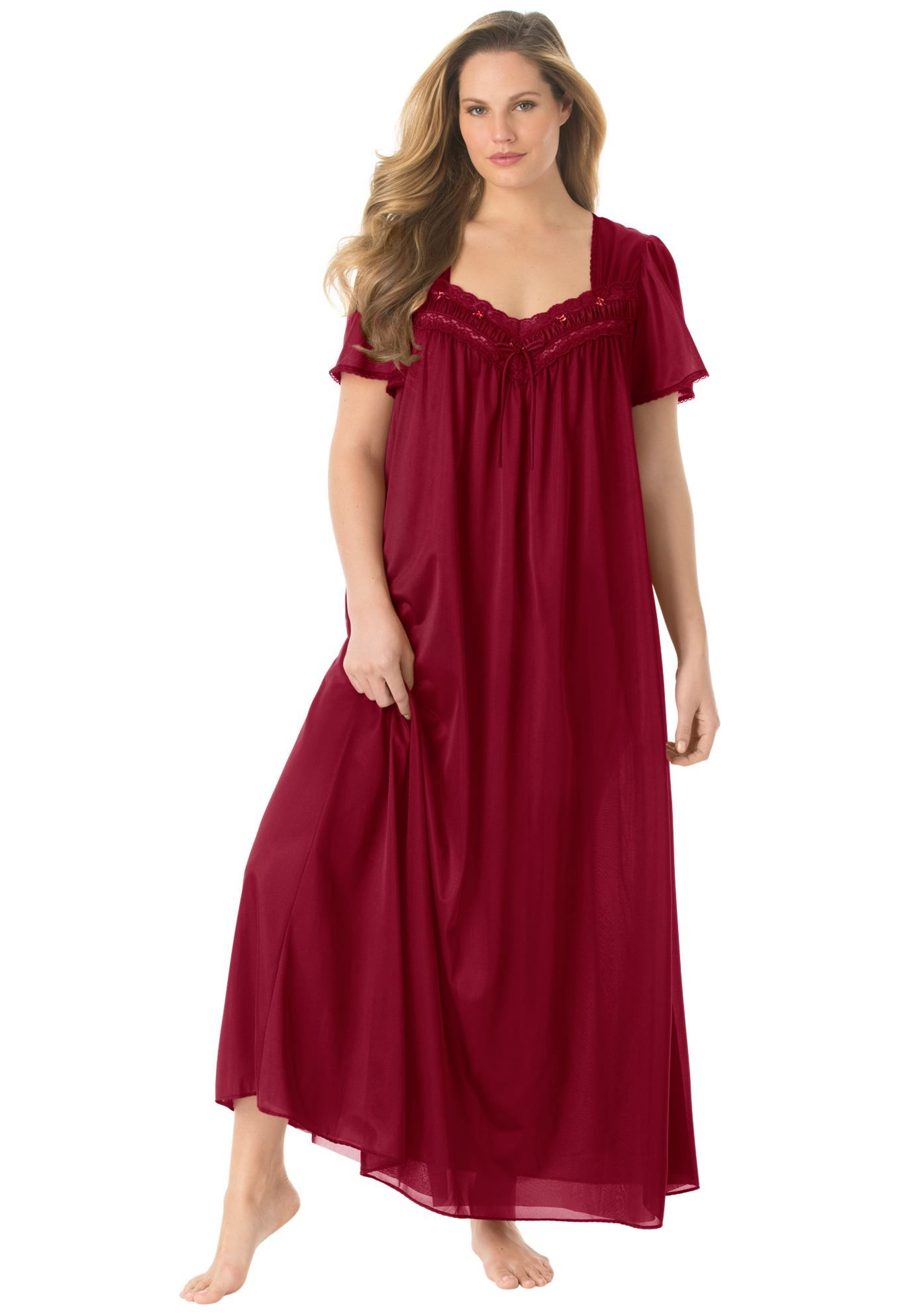 a4ea9b8cc90f Full-sweep nightgown by Only Necessities®