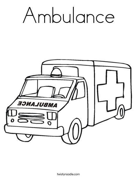 Http S Twistynoodle Com Img R Ambulance 2 Ambulance 2 Ambulance 2 Coloring Page Png 468x609 Q85 Jpg Ctok 2 Cars Coloring Pages Ambulance Truck Coloring Pages