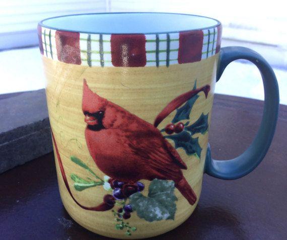 Lenox cardinal mug collectible coffee mug lenox winter greetings lenox cardinal mug collectible coffee mug lenox winter greetings mug m4hsunfo