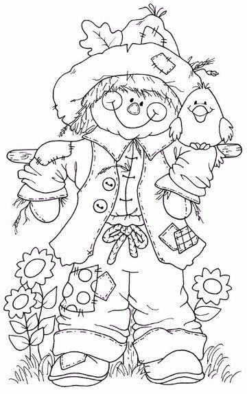 dibujos para colorear de otoño e invierno | BURN | Pinterest ...