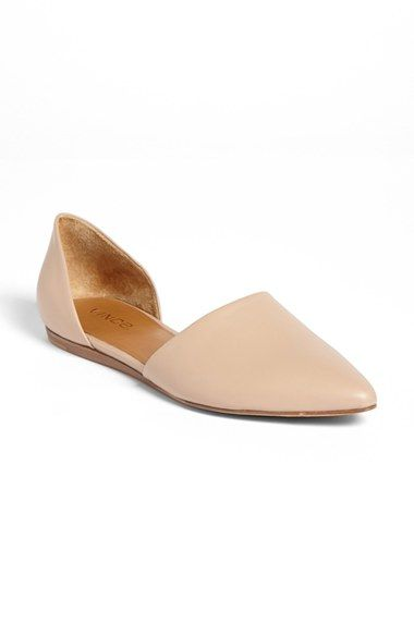 Vince+'Nina'+d'Orsay+Flat+available+at+#Nordstrom