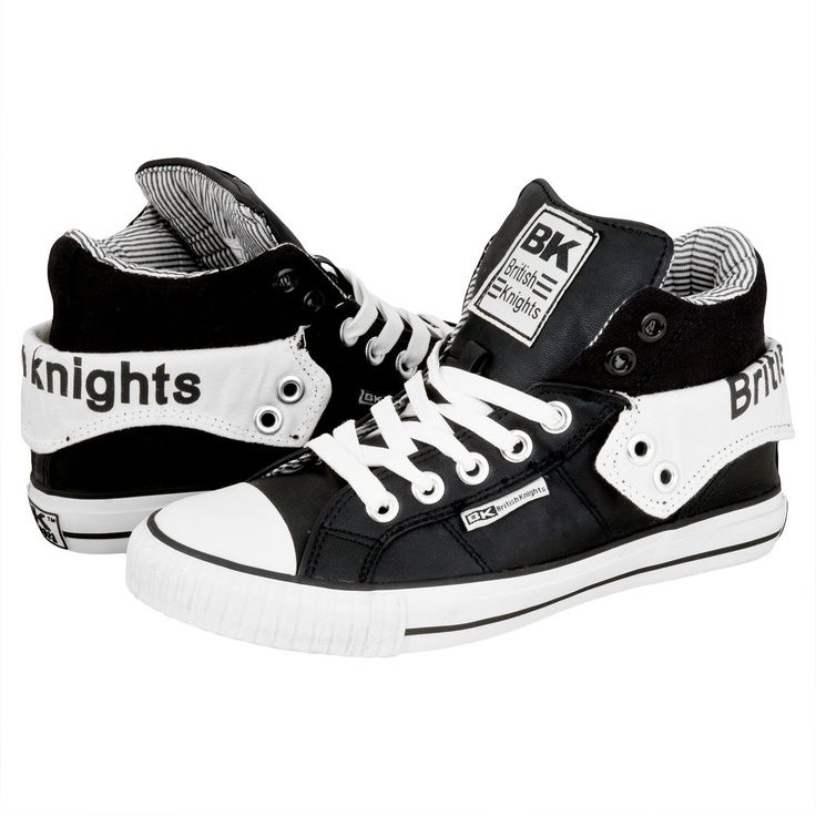 British Knights Roco Sneaker Black/White are the best!