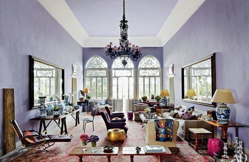 Einige Ideen und Inspirationen für Ihre Wohnzimmerwände Color