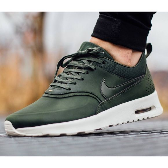 Nike Air Max Thea Premium Leather Sneakers •The Nike Air Max