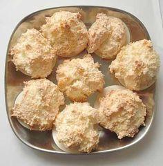 Schnelle Kokosmakronen #kokosmakronenrezept