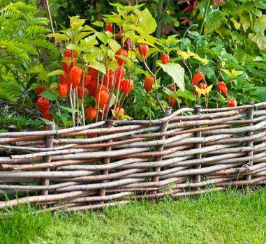 flechtzaun auch als pflanzenkasten kompost garten pinterest flechtzaun kompost und. Black Bedroom Furniture Sets. Home Design Ideas