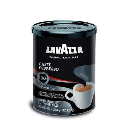 4-Pack 8oz Lavazza Caffe Espresso Ground Coffee Blend ...