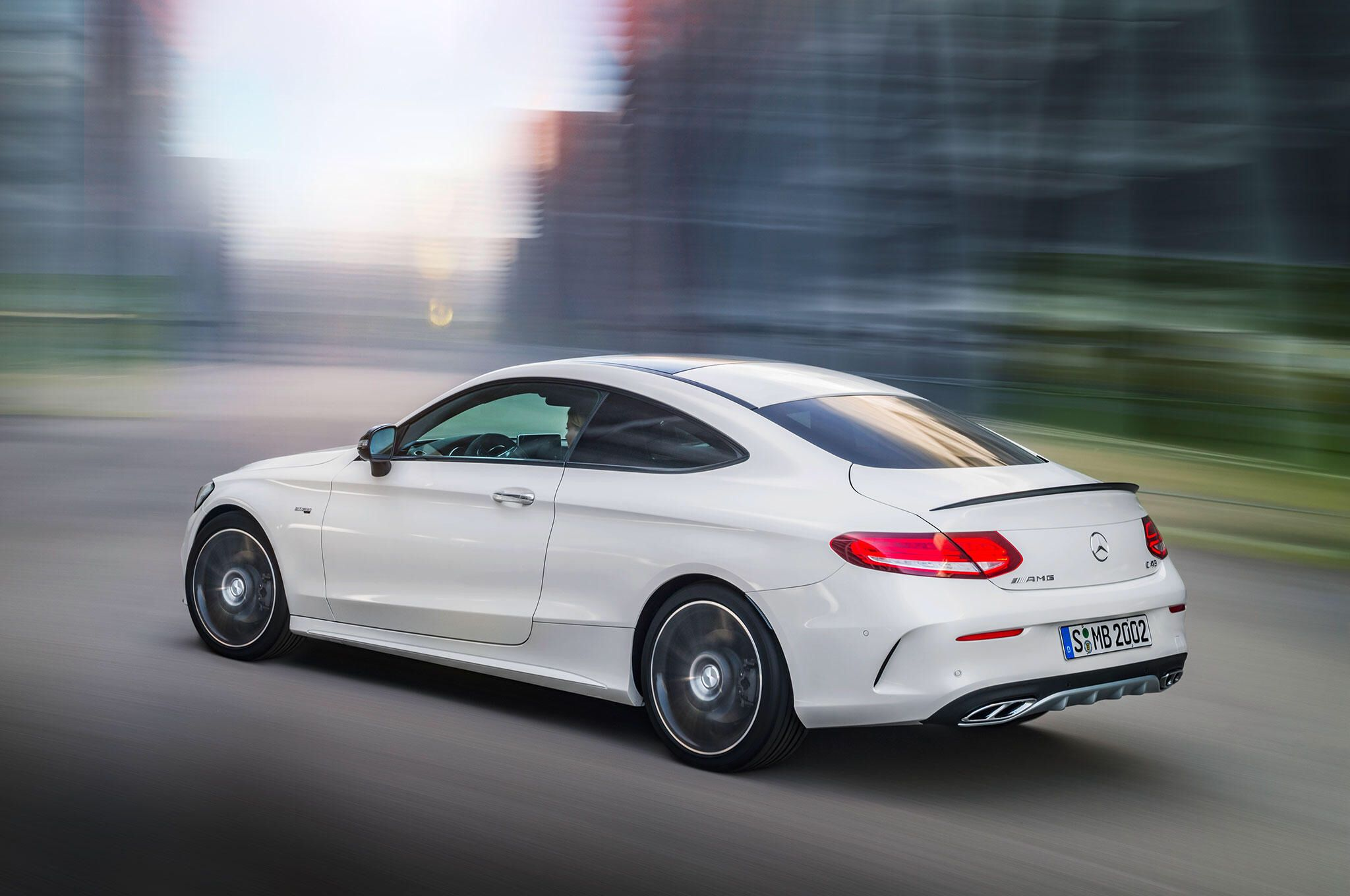 2017 Mercedes Amg C43 Coupe Joins The C Class Family Mercedes