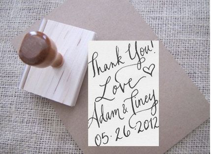 thank you stamp to make your own thank you cards Thank you Cards