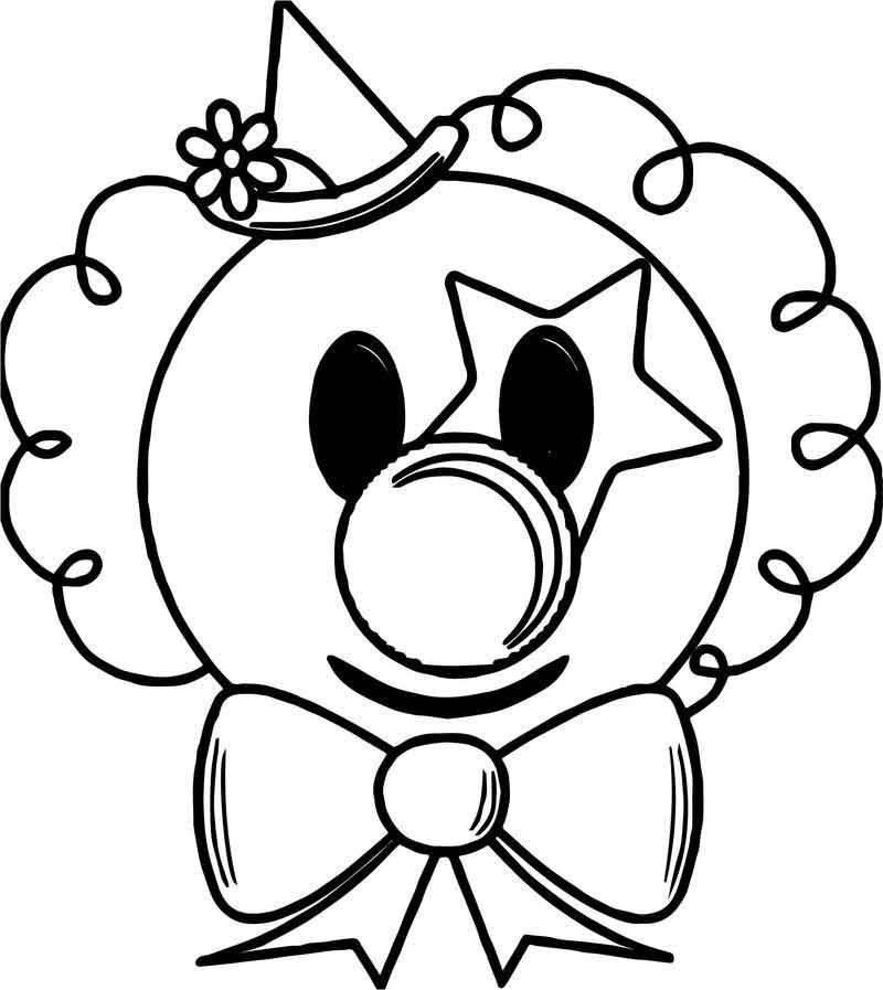 16+ Clown coloring pages for toddlers info