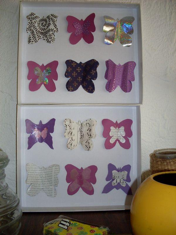 facile et sympa papillons en papier