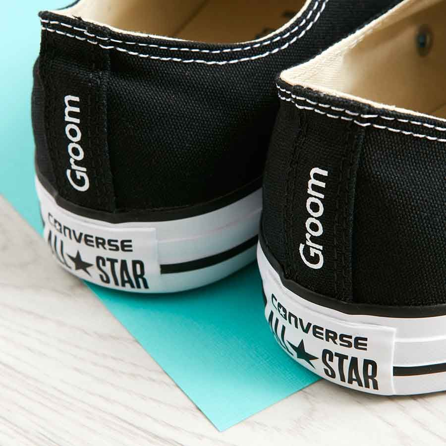 Groom Converse Heel Tags Classic Ox (3 Colours) | Groom