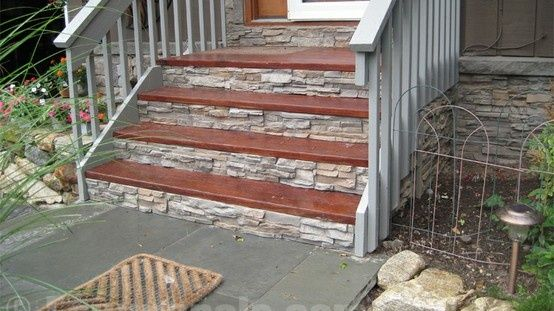 faux stone panels exterior - Google Search outside decor projects