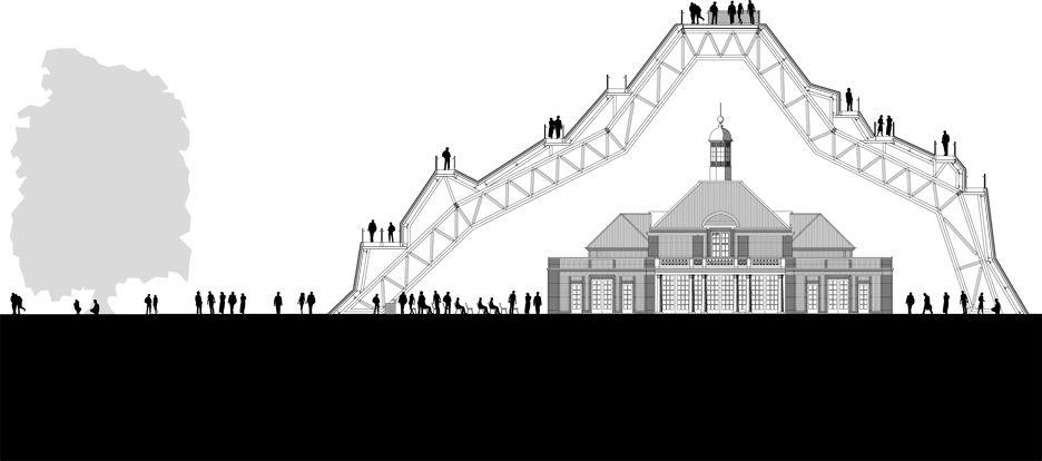 Proposed Serpentine Gallery Pavilion 2004 By Mvrdv In 2020 Serpentine Pavillion Pavilion Serpentine