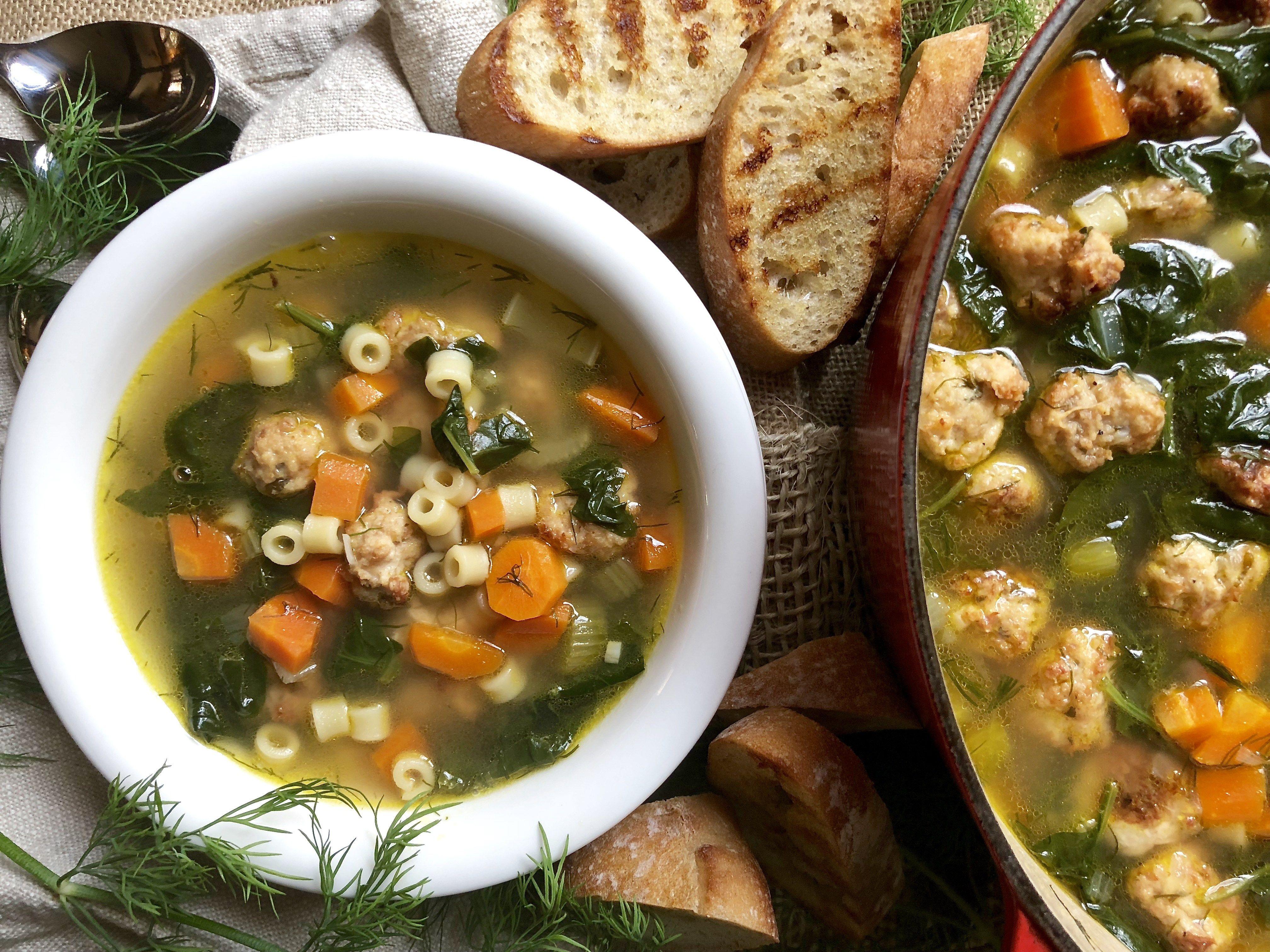 Ina Garten S Italian Wedding Soup Recipe Italian Wedding Soup Wedding Soup Italian Wedding Soup Authentic