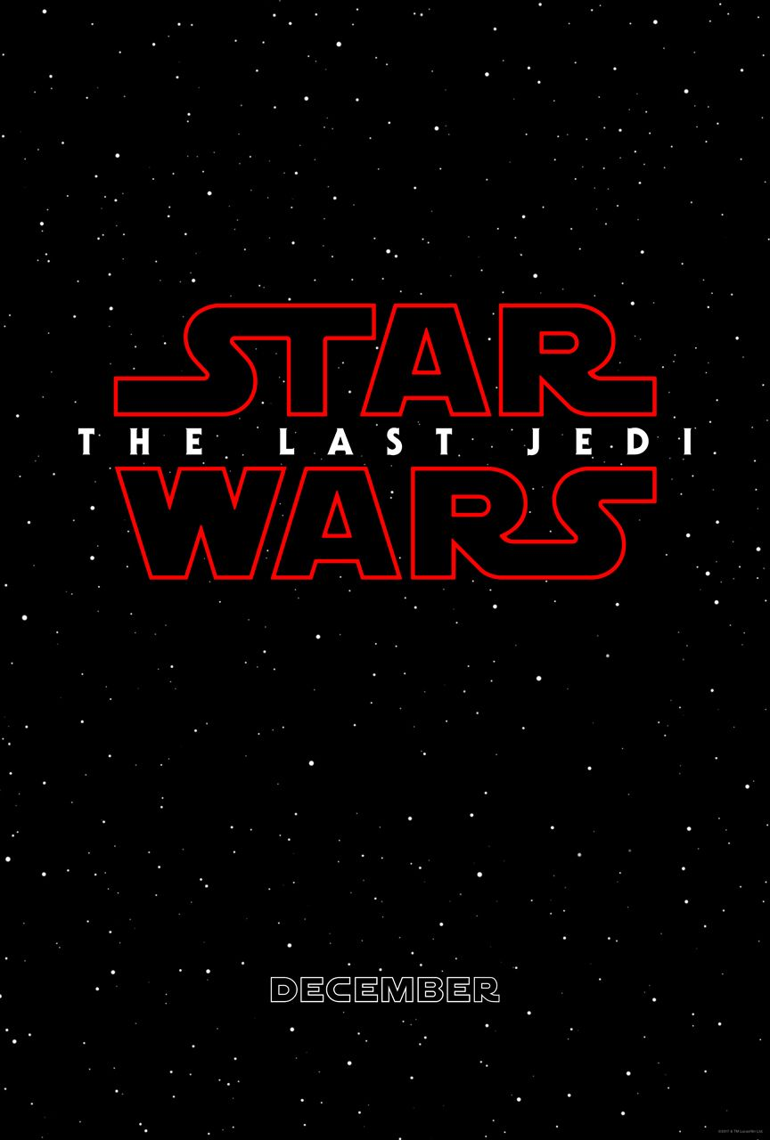 From Walt Disney Studios -- the title of the next chapter in the Skywalker saga: STAR WARS: THE LAST JEDI.