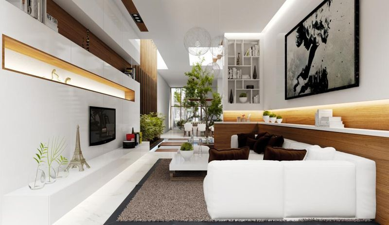 35 Modern Living Rooms With Cool And Clean Lines French Living Room Design Small Living Room Design Interior Design Living Room