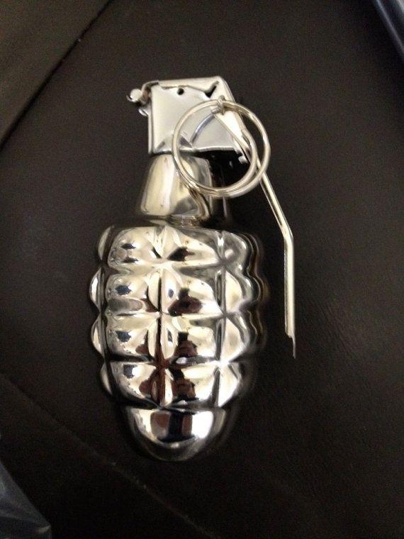 Hand Polished Chrome Dummy Military Surplus Hand by Acme
