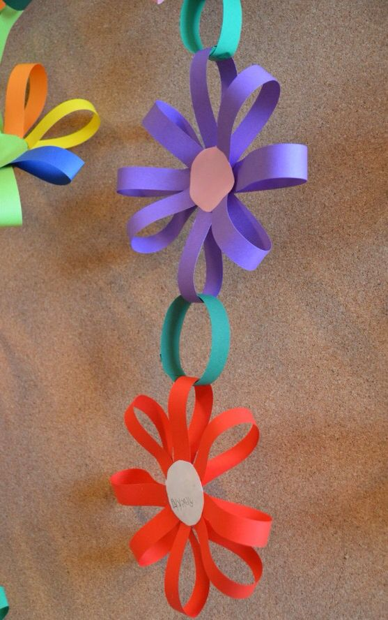 Flower Garland To Hang Around The Hall Flower Crafts Crafts