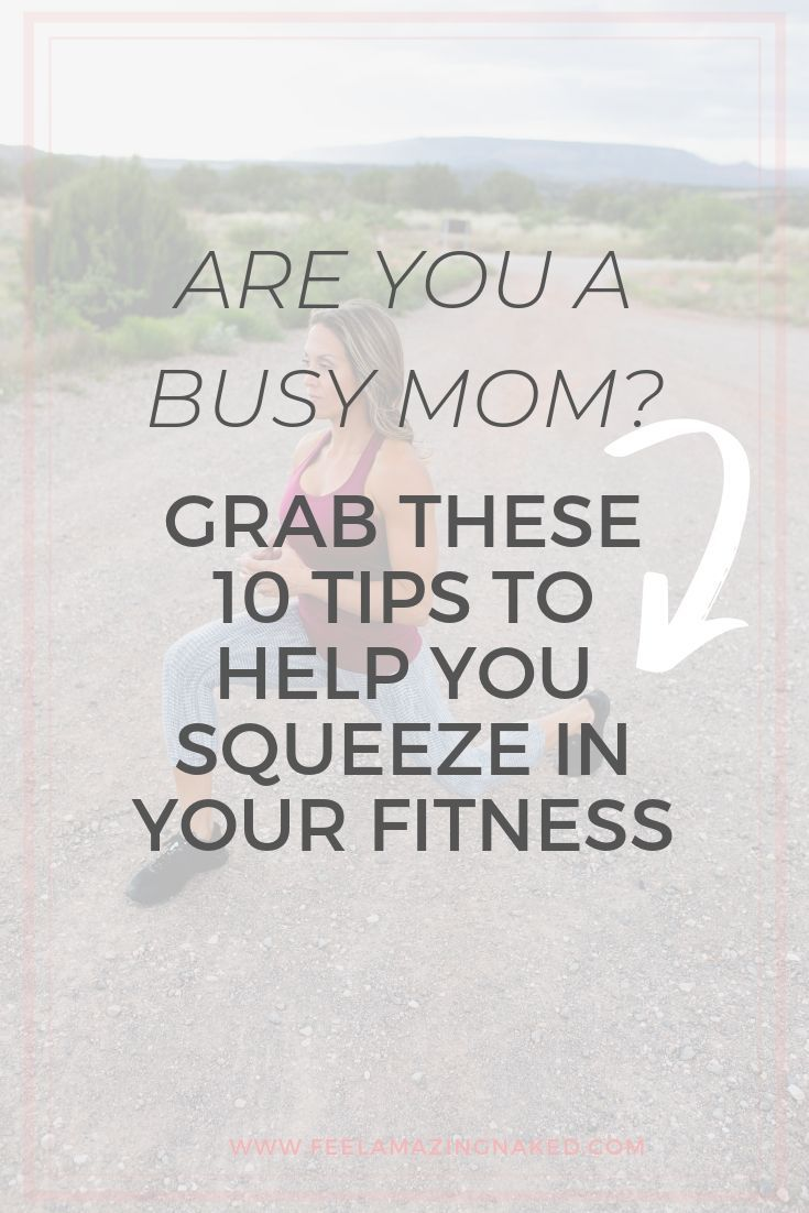 Do you struggle to squeeze in time for working out into your busy schedule? Check out these straight...