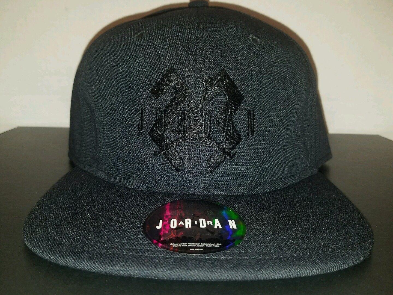 3eef8a5f101 wholesale nike jordan retro 6 og black black cat snapback hat cap bnwt ebay  fashion f953f