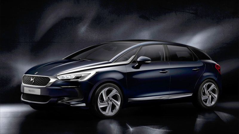 PSA Peugeot Citroen launches a refreshed version of the DS5 luxury wagon.