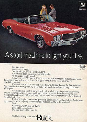 Vintage Look Reproduction Metal Sign 1969 Buick Skylark Custom
