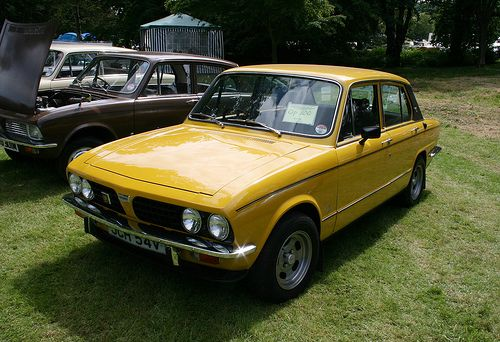 #MatesParentsCars: 1980 Triumph Dolomite 1850. My mate's mum used to jump a hump in this.
