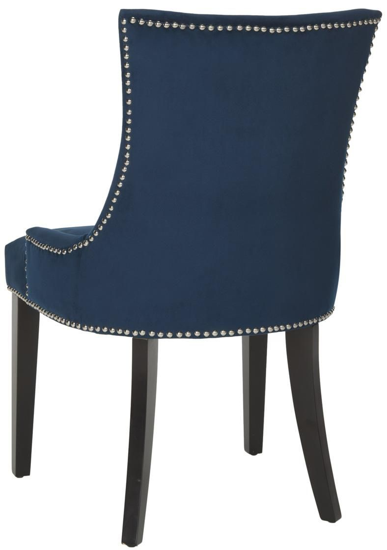 Navy Cushioned Dining Chairs Safavieh Com Dining Chairs Navy