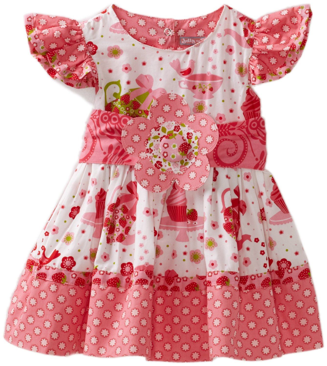 Jelly The Pug Baby Girls Infant Cake Princess Dress