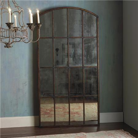 find brown floors on wood floor deals mirror shop the benzara arched best