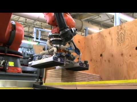 KUKA robot : furniture robotics cells