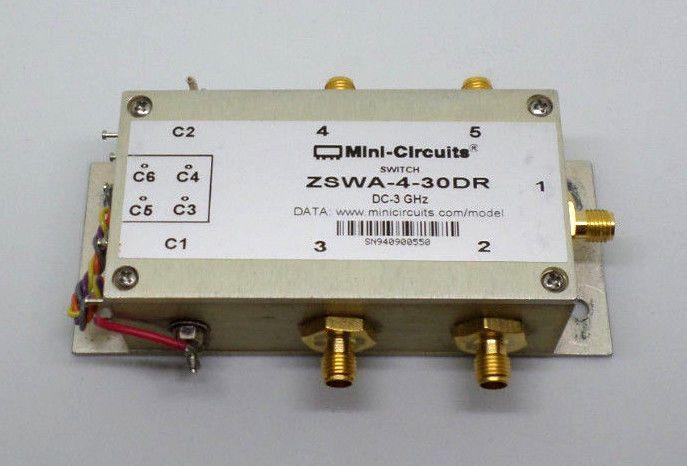 Mini-circuits switch zswa-4-30dr dc-3 ghz (c16b5) | Circuits, Video ...