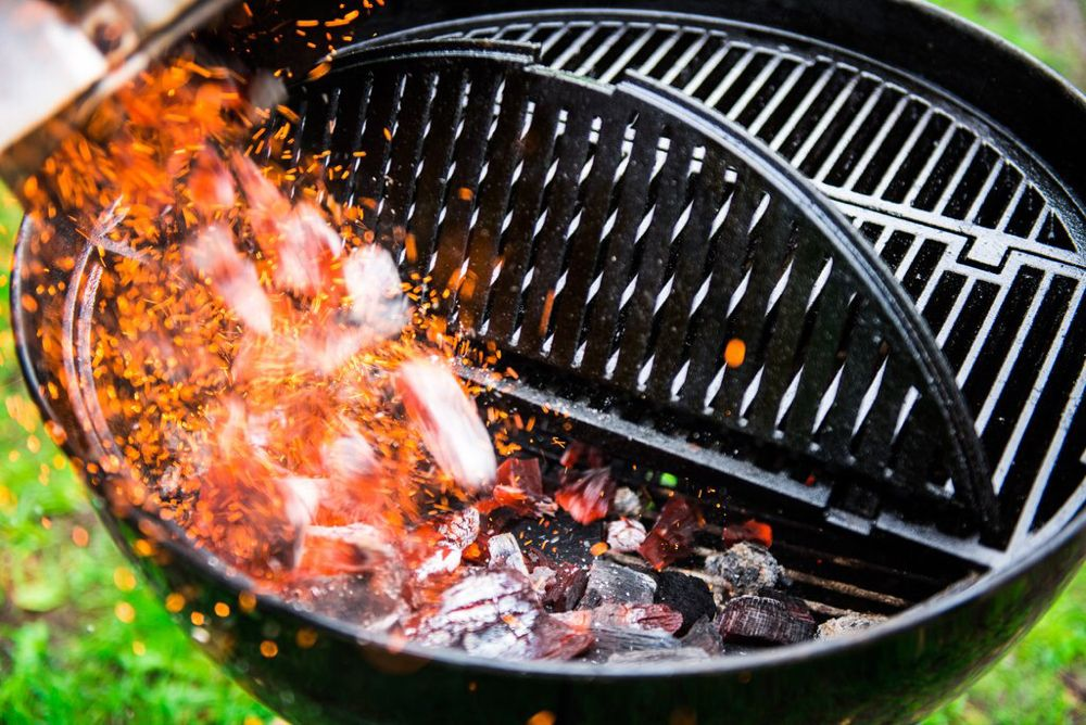 """M1 Cast Iron Grate for 22"""" Kettle Grills in 2020"""