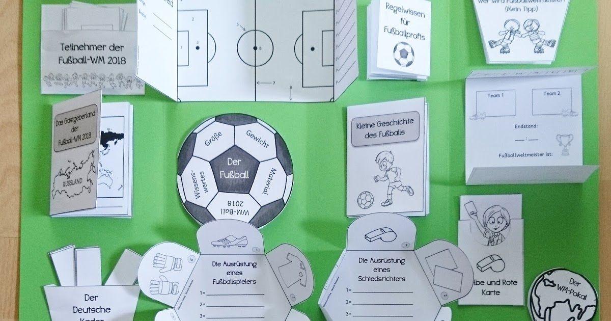 Lapbookvorlagen Alles Uber Fussball Lapbook Vorlagen Fussball Wm Grundschule