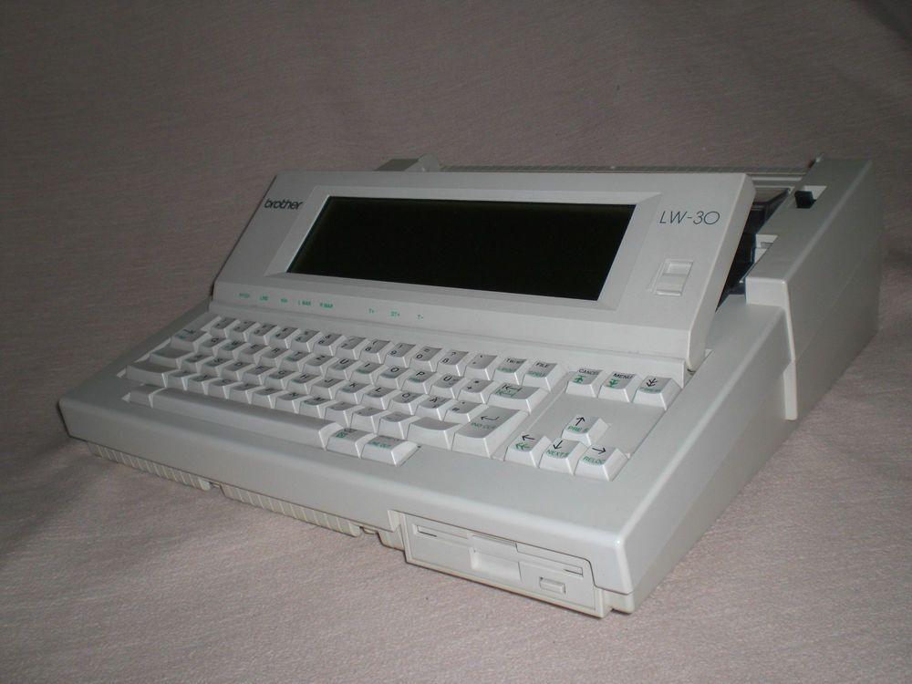Elektronische Schreibmaschine Brother LW-30 Personal Word Processor typewriter
