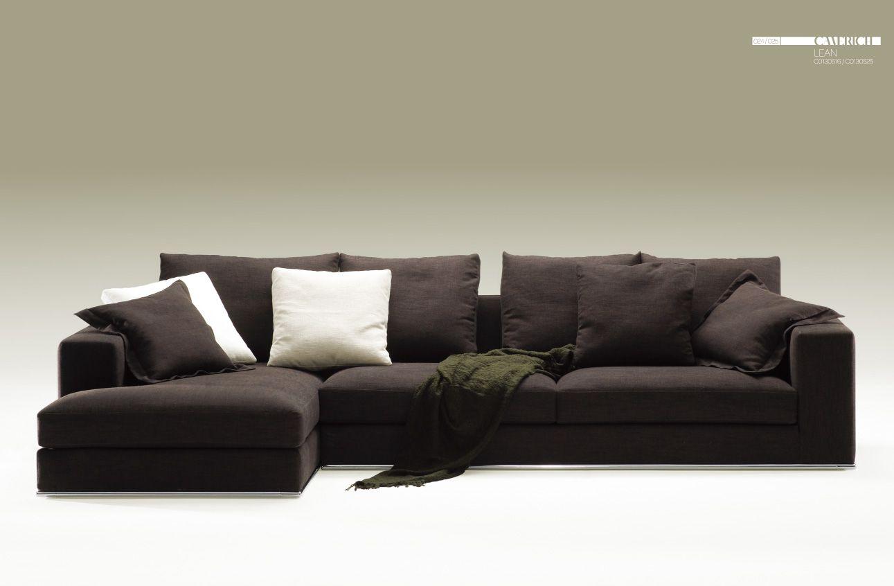 Camerich La Lean Sectional Contemporary Home Furniture Modern