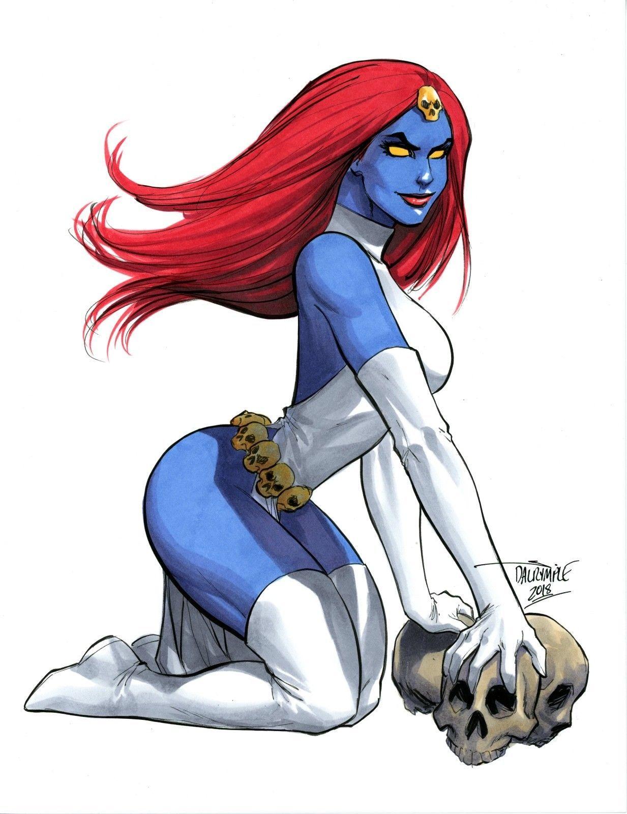 Mystique By Scott Dalrymple Mystique Marvel Marvel Villains Marvel Comic Character