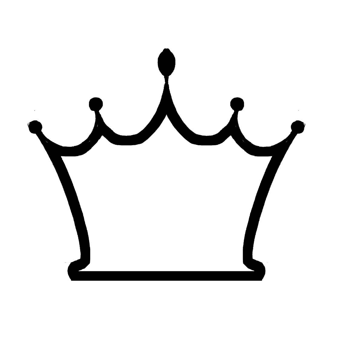Crown 6 Outline Clipart Best Crown Clip Art Crown Outline Crown Drawing