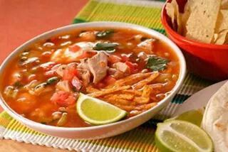 Tortillas soup