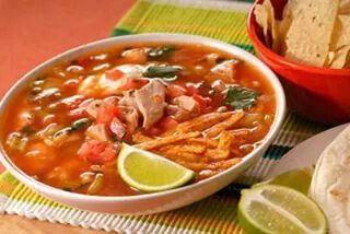 Tortillas soup