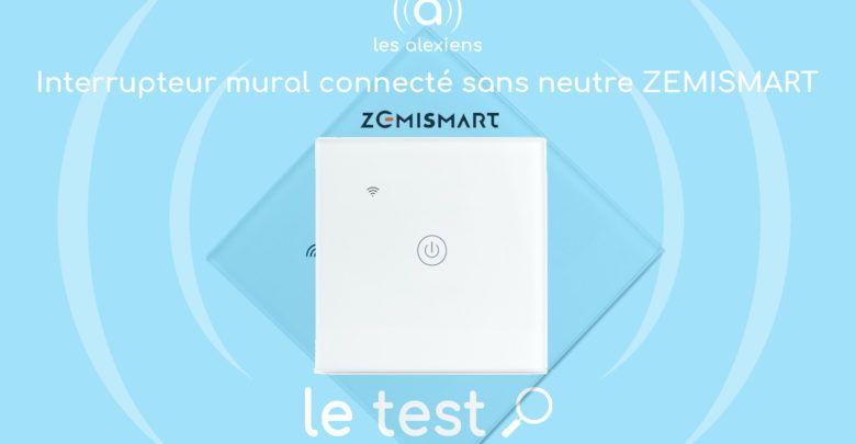 Test Zemismart Interrupteur Mural Encastrable Connecte Sans Neutre Pas Cher En 2020 Interrupteurs Interrupteur Connecte Parement Mural
