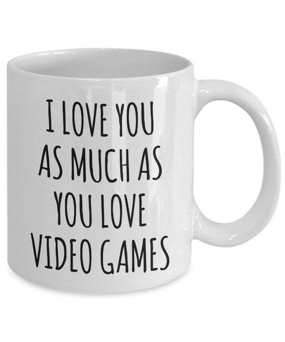 Gamer Gifts for Boyfriend Video Gamer Mug Gamer Husband Gift