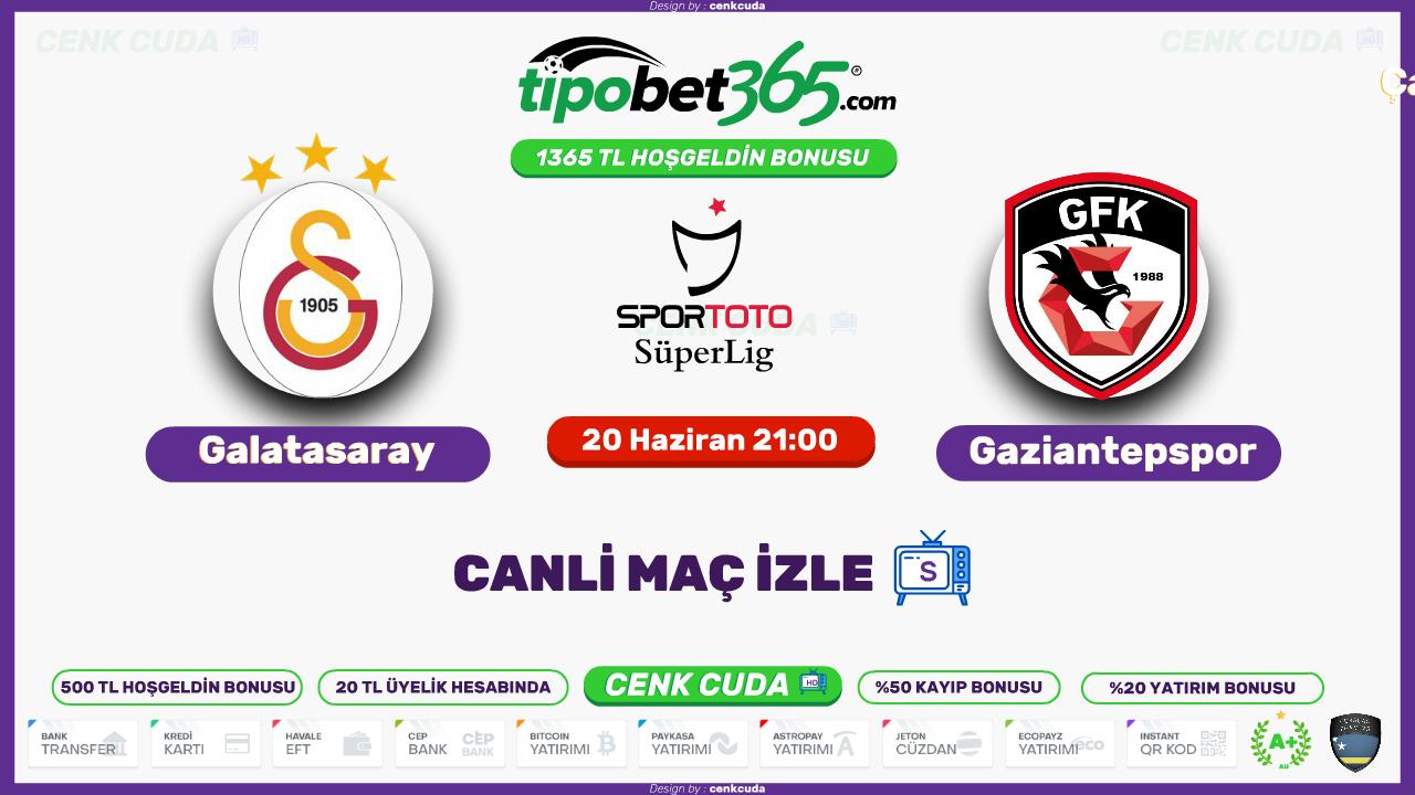( Bedava Bein Sport izle ) Galatasaray Gaziantep canli maç