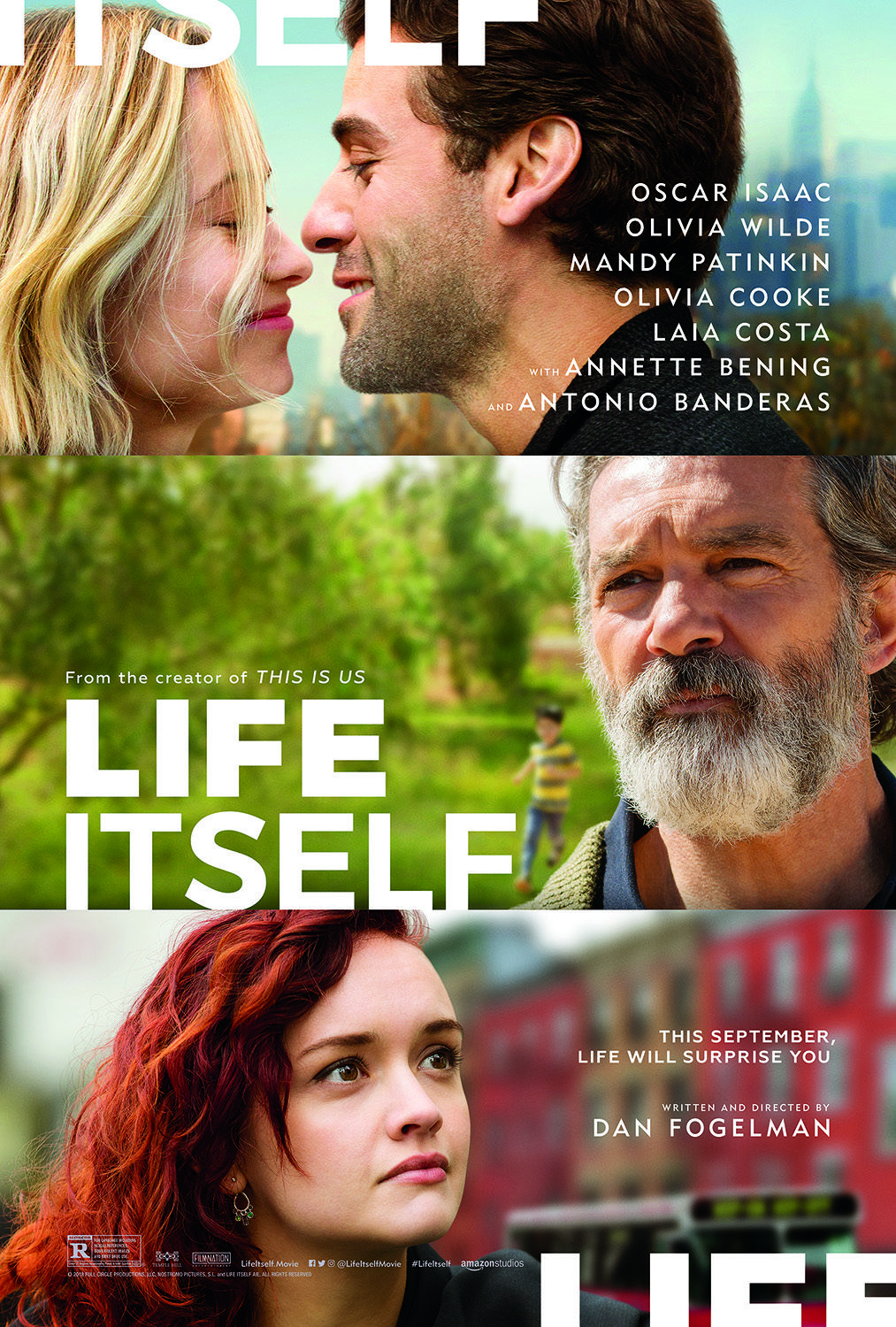 Life Itself Starring Oscar Isaac Olivia Wilde Mandy Patinkin