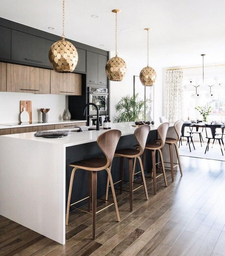 Scandinavian Kitchendesign Ideas: 20 Admirable Black White Wood Kitchens Design Ideas