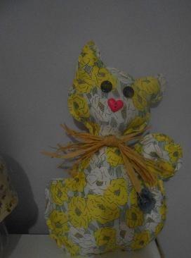 Gato country amarillo
